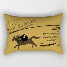 Songs of the Dark Lantern Rectangular Pillow