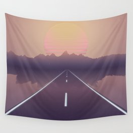 Outrun the Sun Wall Tapestry