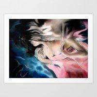 Lady Jess Art Print