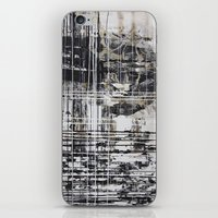 cage iPhone & iPod Skins featuring Cage by George Lockyer