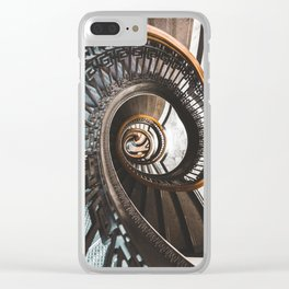 Stairs of Knowledge Clear iPhone Case
