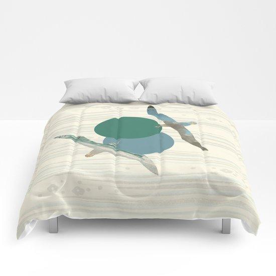 Seagull Polka Comforters