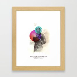 NO, YOU CAN'T Framed Art Print