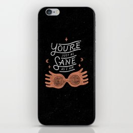 Sane iPhone Skin