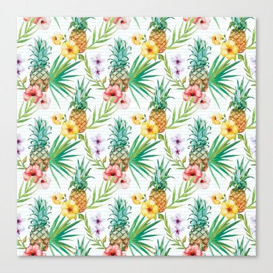 Tropical Summer #13 Canvas Print