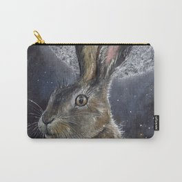 Silver Light of Moon Carry-All Pouch