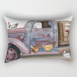 The Flock Spot Rectangular Pillow