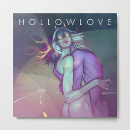 Hollowlove Hazardlights Metal Print
