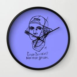 American Hipstory: George Washington Wall Clock