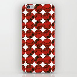 Roses (red) iPhone Skin