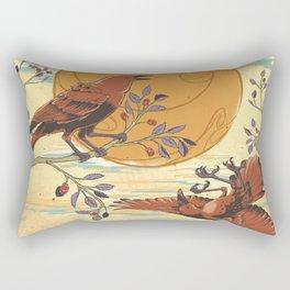JINWU (three-legged crows) Rectangular Pillow