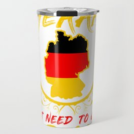 Germany Flag Nation Home Love Gift Travel Mug