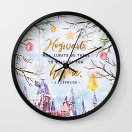 Hogwarts will always Wall Clock