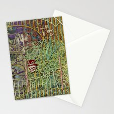 Grinding Out The Mean Layer (1) Stationery Cards