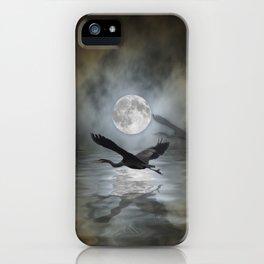 Heron Moon iPhone Case