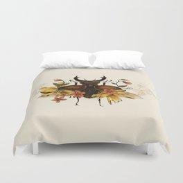 Blooming Beetle Duvet Cover