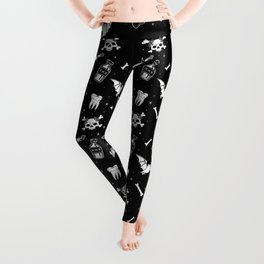 A Few Macabre Things Leggings