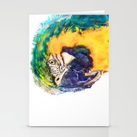 parrot Stationery Cards featuring Parrot by jbjart