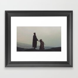 Queen and the Knight Framed Art Print