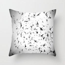 Free like a burd... Throw Pillow