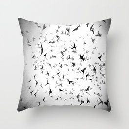 Free like a burd... Throw Pillow
