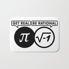 Get real  be rationa Bath Mat