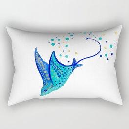Neptune's Ray Rectangular Pillow