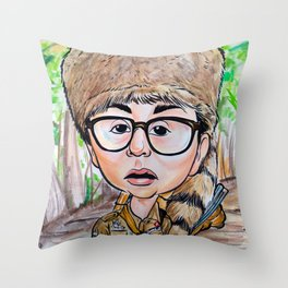 San Moonrise Kingdom Throw Pillow