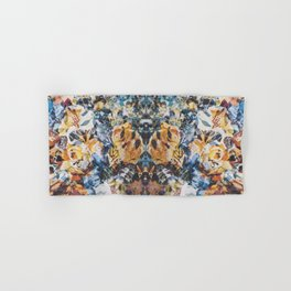 Rorschach Flowers 3 Hand & Bath Towel
