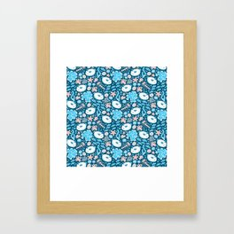 Sea Bunnies Framed Art Print