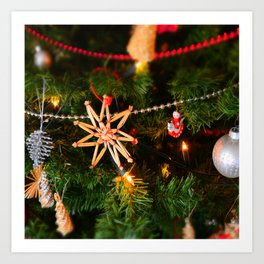 Christmas photo Art Print