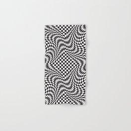 Checkered Warp Hand & Bath Towel