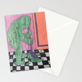 Glob Mop Stationery Cards