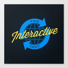 The Interactive Department Canvas Print