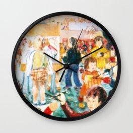 Kindergarten          by Kay Lipton Wall Clock