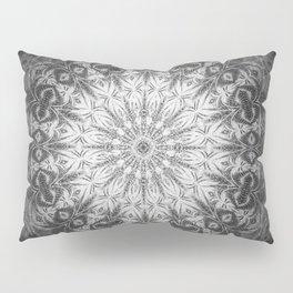 Gothic Lace Mandala Pillow Sham