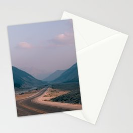 Road to Nowhere in Banff Stationery Cards