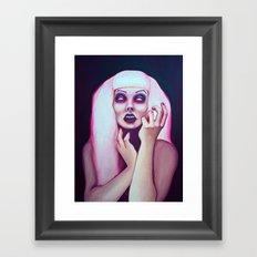 dead chick Framed Art Print