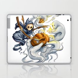 Grim and Ghost Friends Laptop & iPad Skin