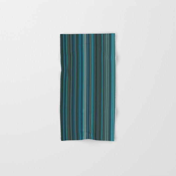 Blue lines 2 Hand & Bath Towel