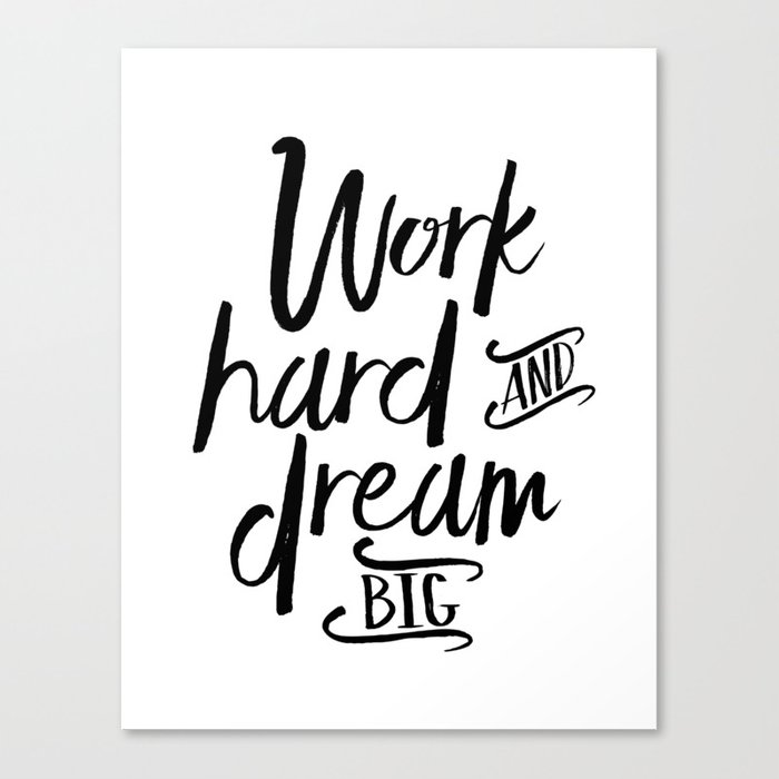 Inspirational Quotes About Failure: WORK HARD And DREAM Big, Motivational Quote,Inspirational