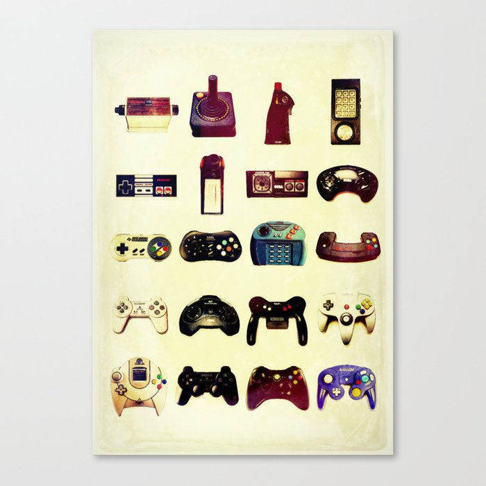 Game On  Canvas Print