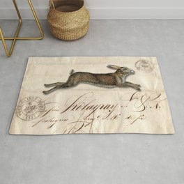 The French Rabbit Rug