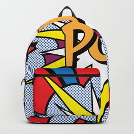 POP Art Exclamation Backpack