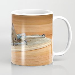 Dead Mouse in Trap Coffee Mug