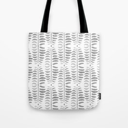 Helecho grey & white Tote Bag
