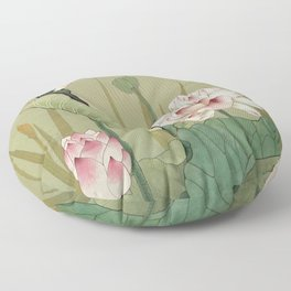 Lotus Flower Floor Pillow