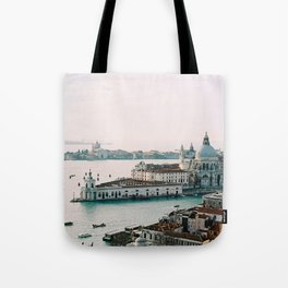 December Sunset, Venice Tote Bag