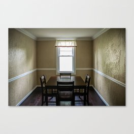To Dine Alone... Canvas Print