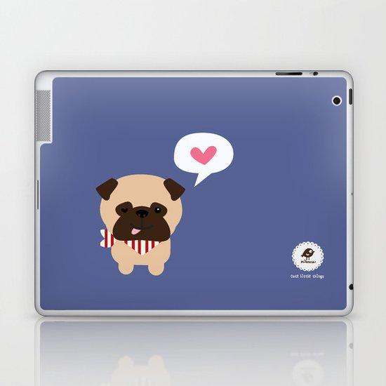 Pancho the Pug Laptop & iPad Skin